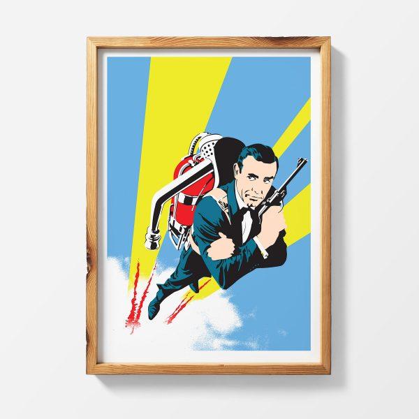 Thunderball James Bond Poster